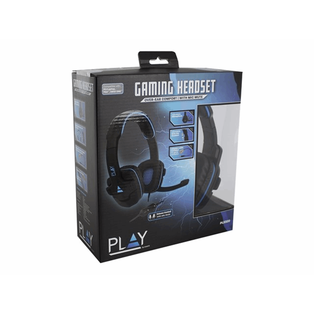 Ewent Play Gaming Headset with microphon