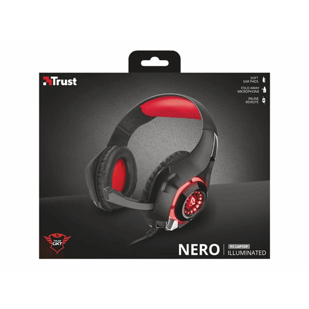 GXT 313 Nero Illuminated Gaming Headset